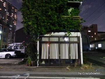 夜の新富町(東京)