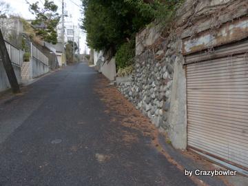国分寺ハケの道 階段