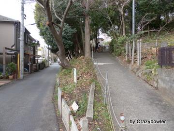 ハケの道(小金井市貫井)