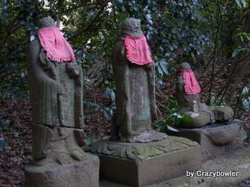 薬師堂前のお地蔵様(国分寺市)