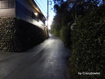 東福寺横の坂(国分寺市)
