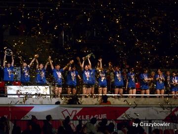 Vプレミアリーグ2013/2014 表彰式