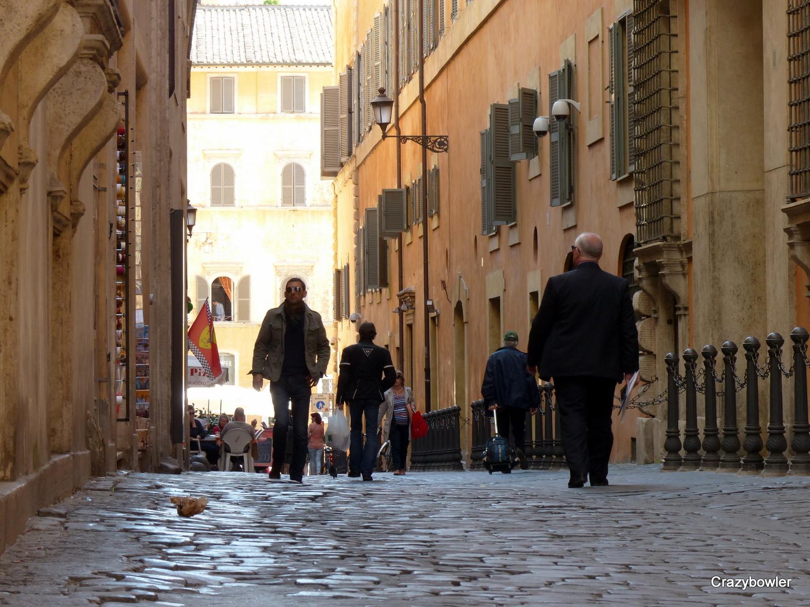 ジュスティニアーニ通り(Via Giustiniani)の光景