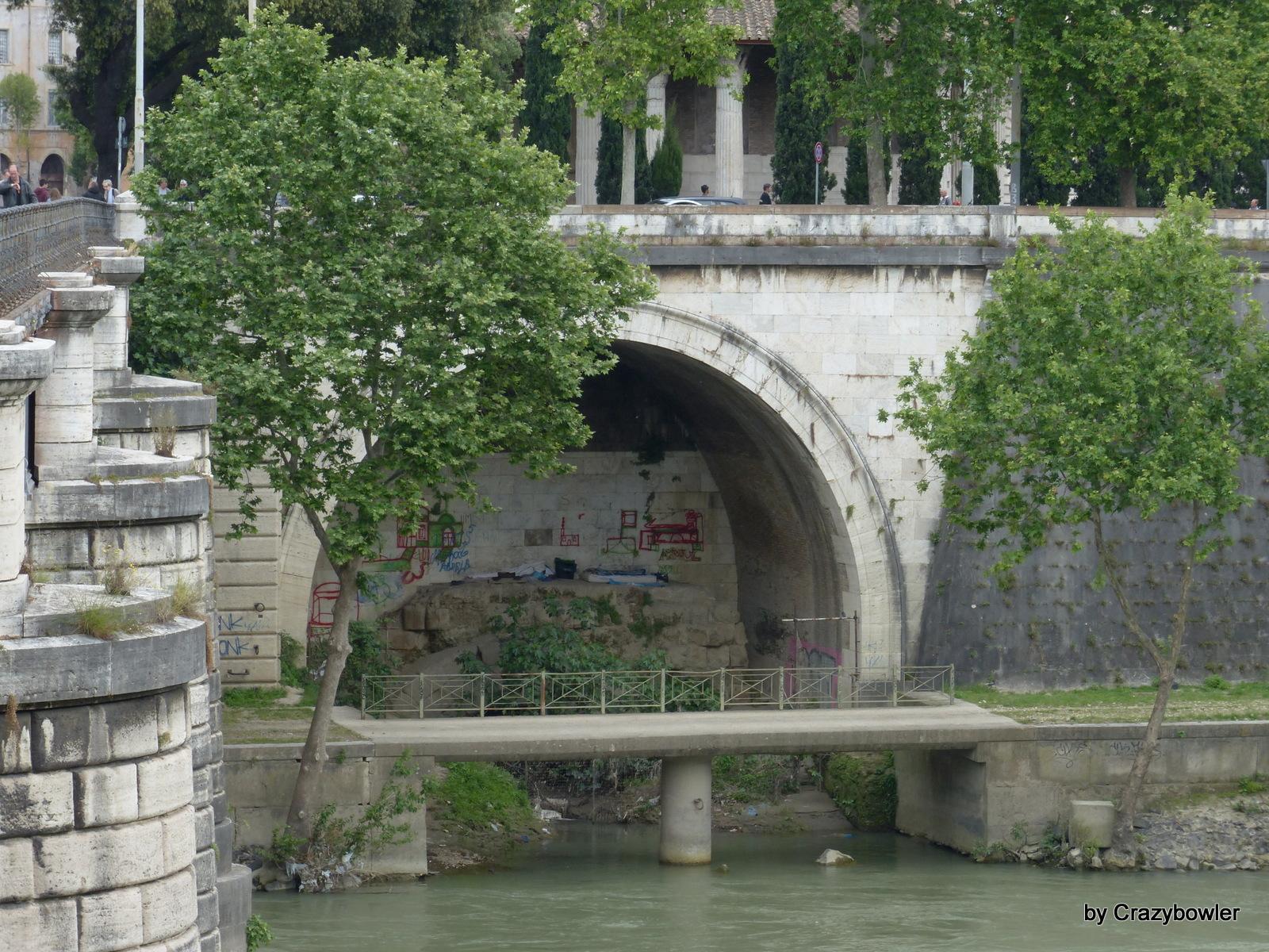 クロアカ・マキシマ(Cloaca Maxima)の排水口