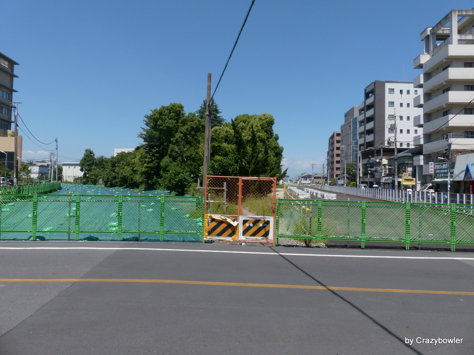 調布駅地下化20140614の状況2