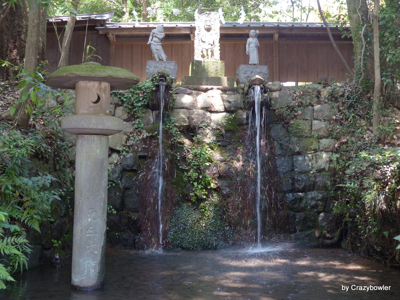 深大寺の湧水(東京都調布市)