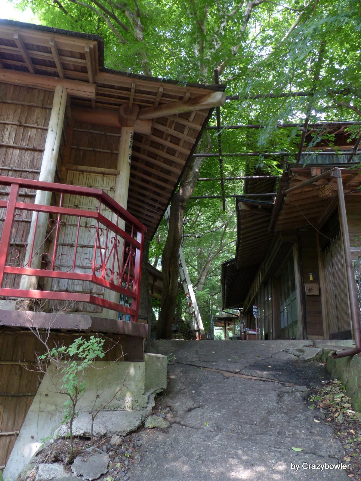袋田の滝(観瀑台へ向かう道)