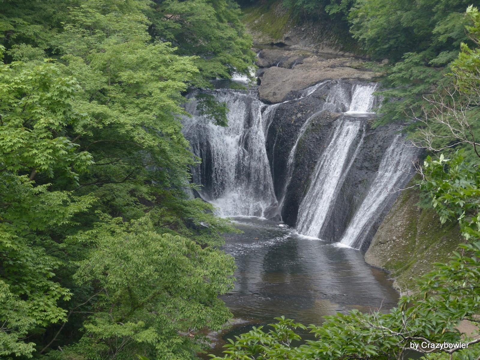 生瀬の滝(茨城県久慈郡大子町袋田)