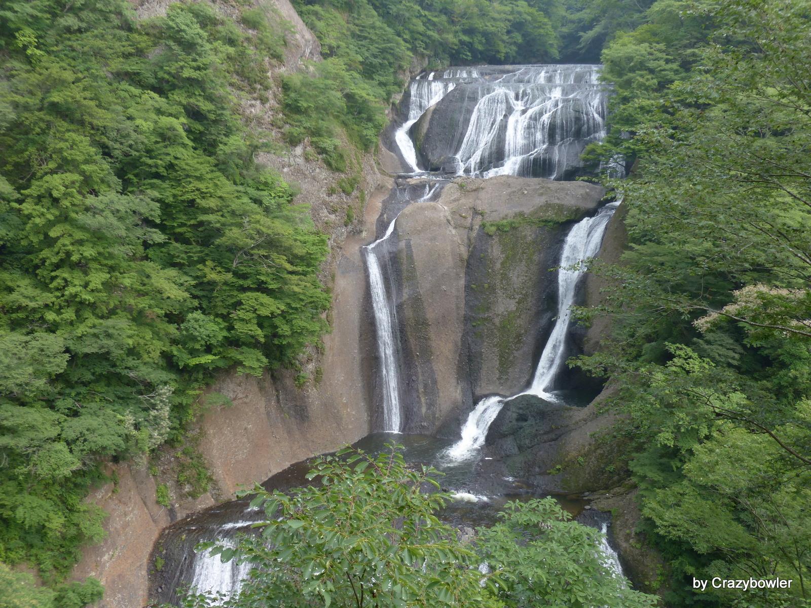 袋田の滝(第二観瀑上段から)
