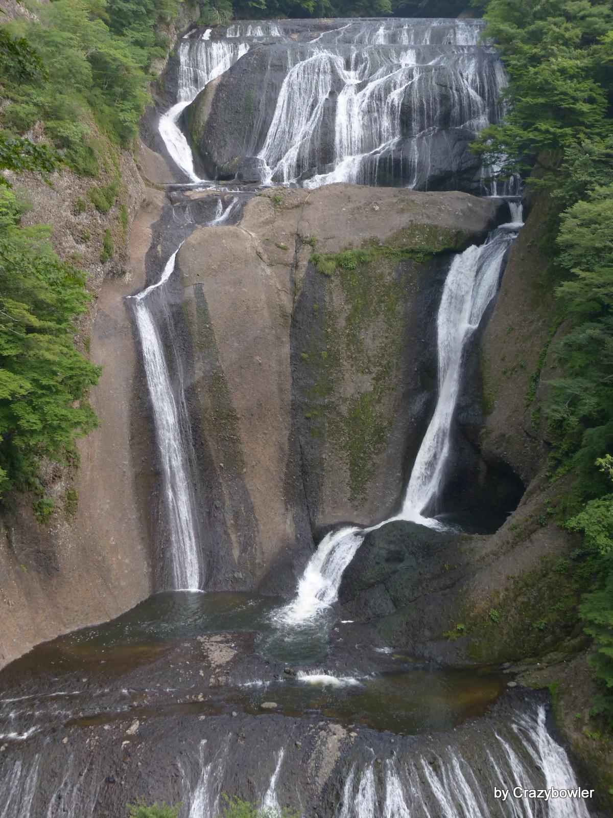 袋田の滝(第二観瀑下段から)