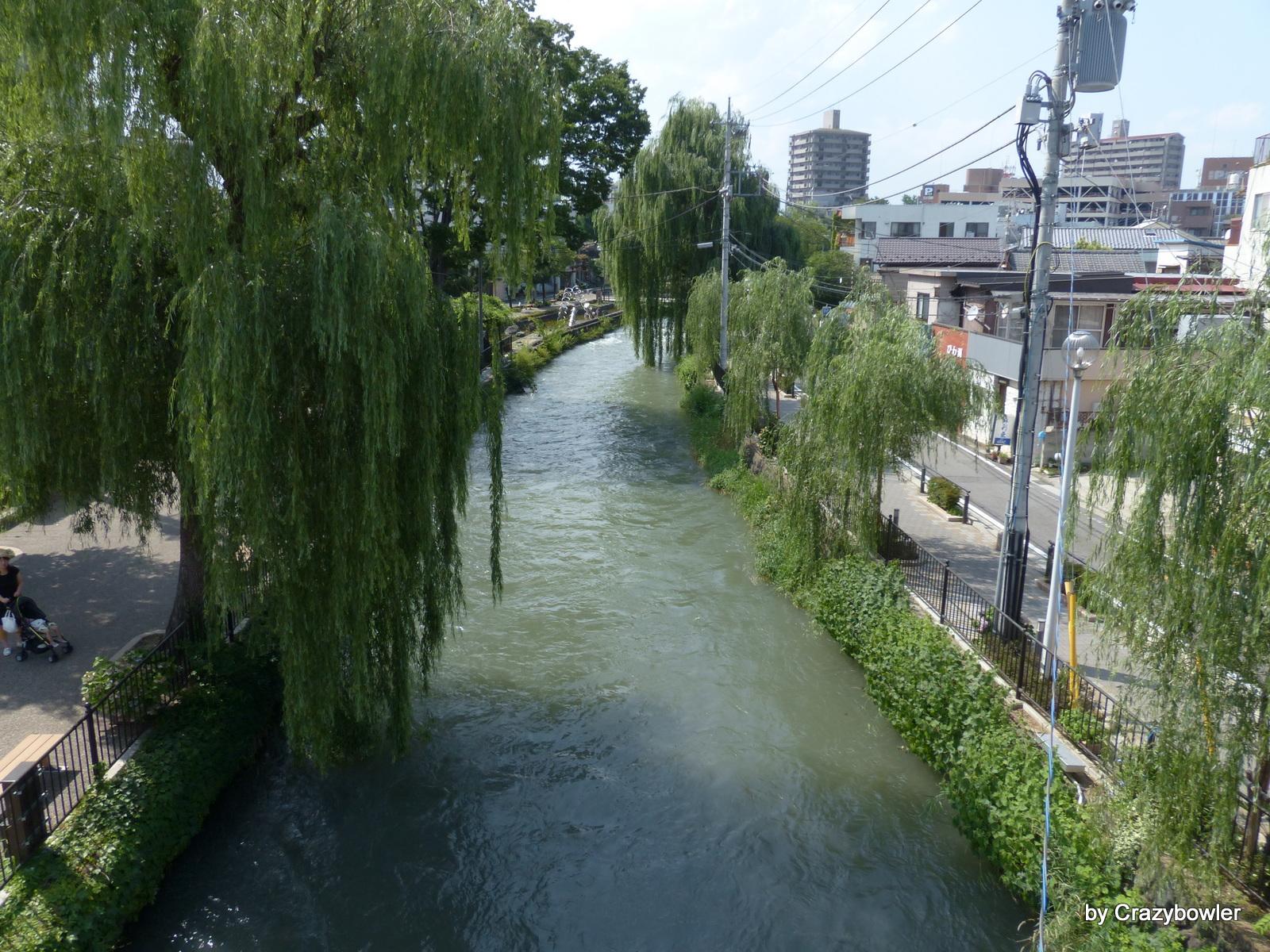 広瀬川、広瀬用水(前橋)中央前橋駅付近
