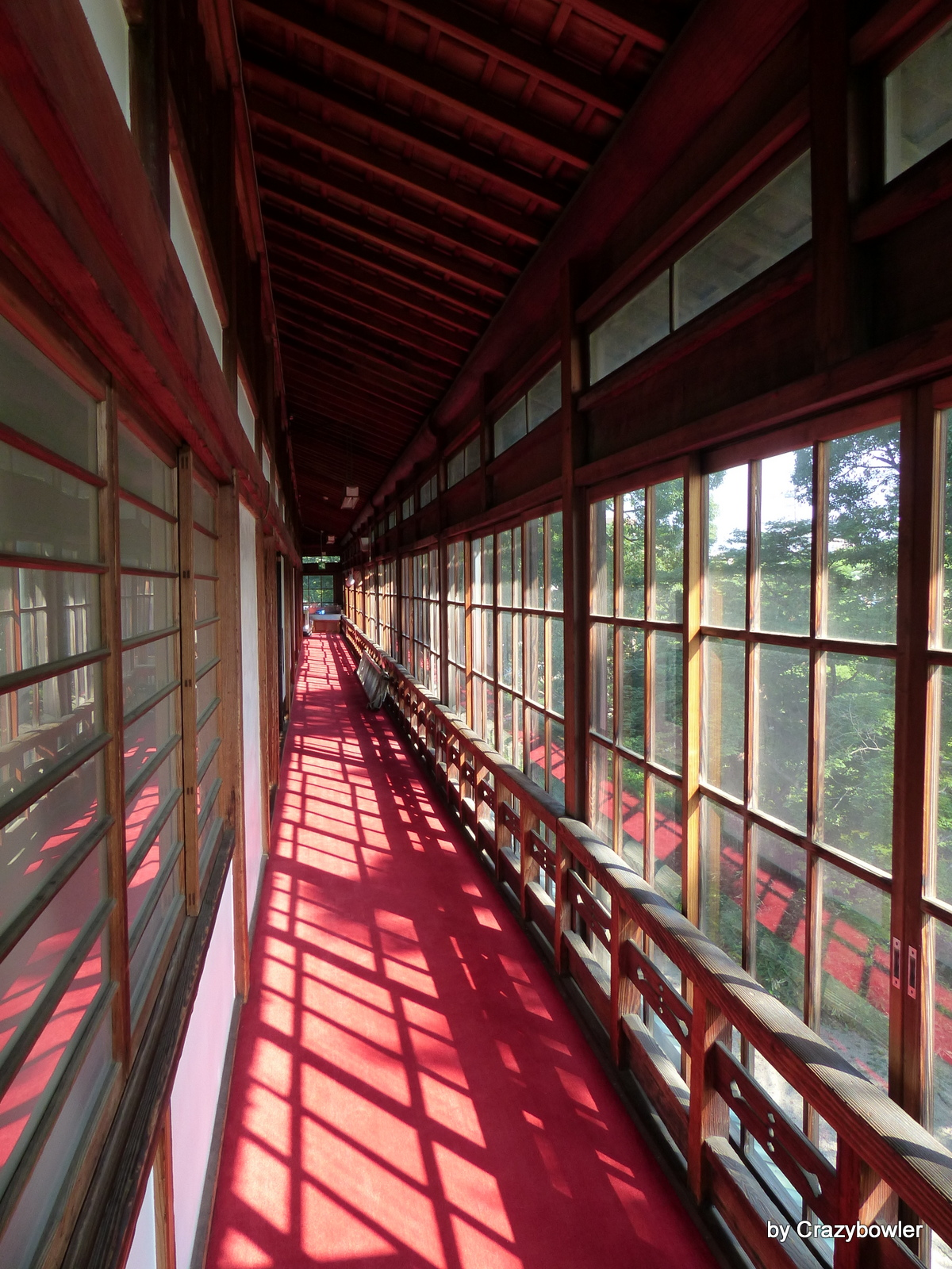 臨江閣(前橋)別館廊下
