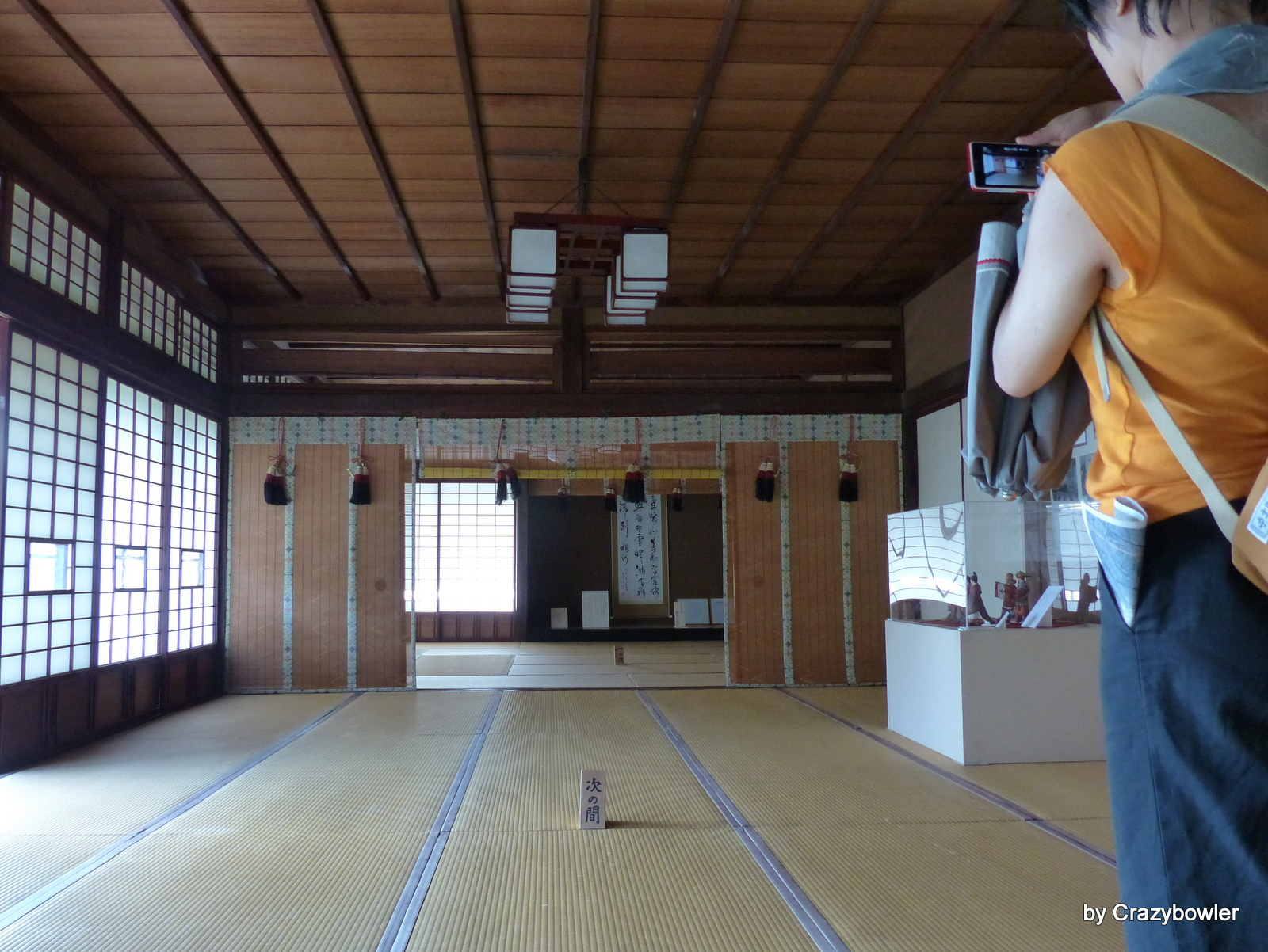 臨江閣(前橋)明治天皇行幸の際の宿泊した部屋