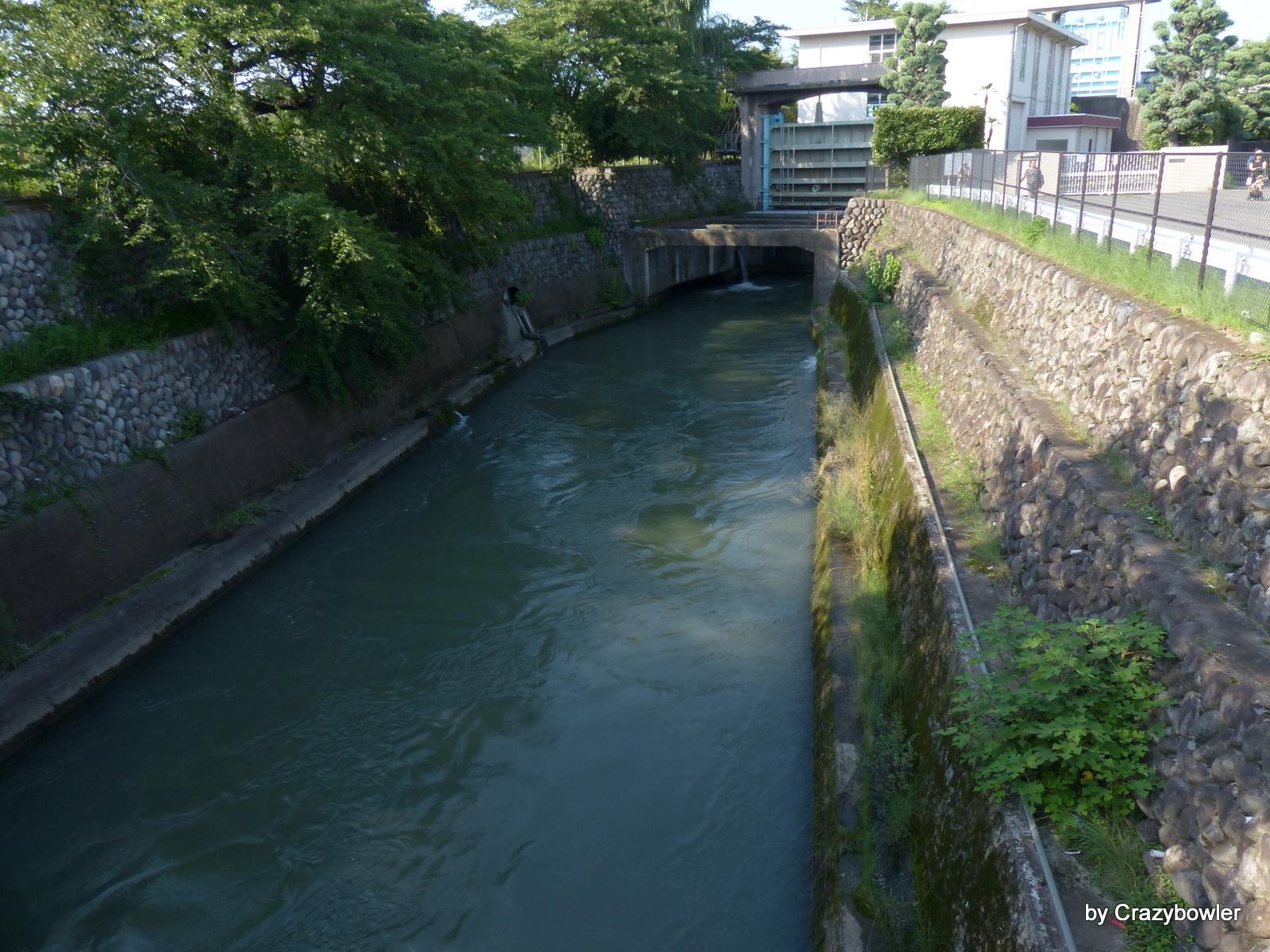 柳原放水路(前橋)