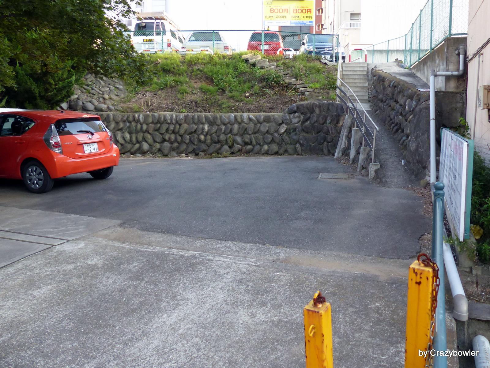 馬場川通りの河岸段丘(前橋)