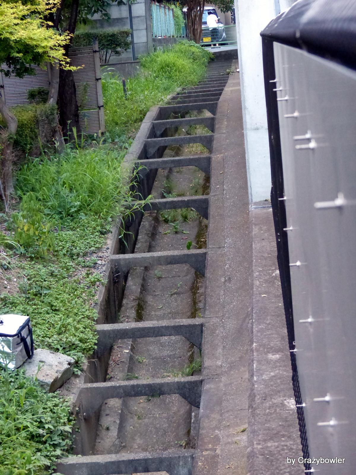 ジェットコースター型柵渠(世田谷区)
