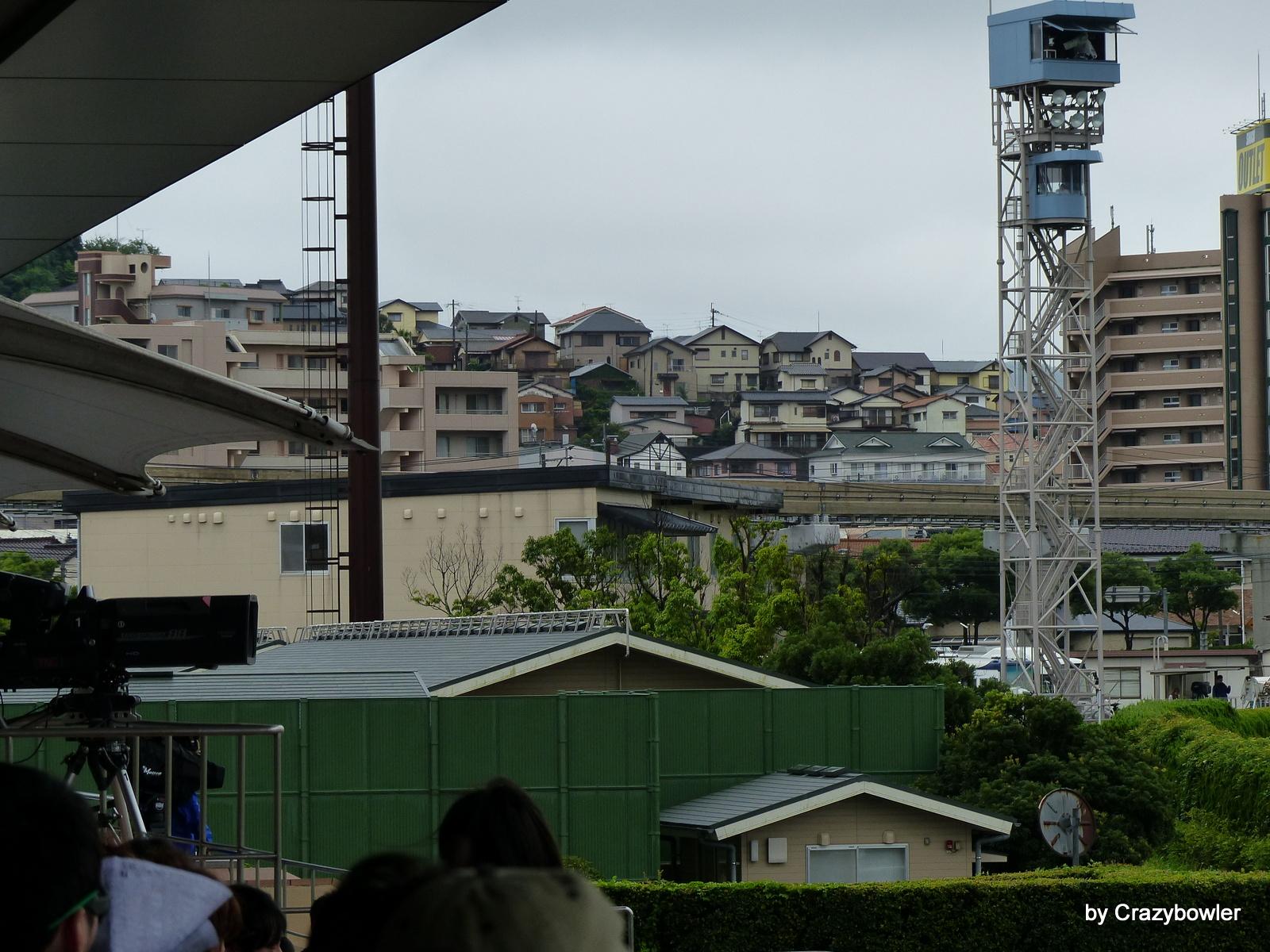 小倉競馬場から企救丘、守恒一丁目付近(北九州市)