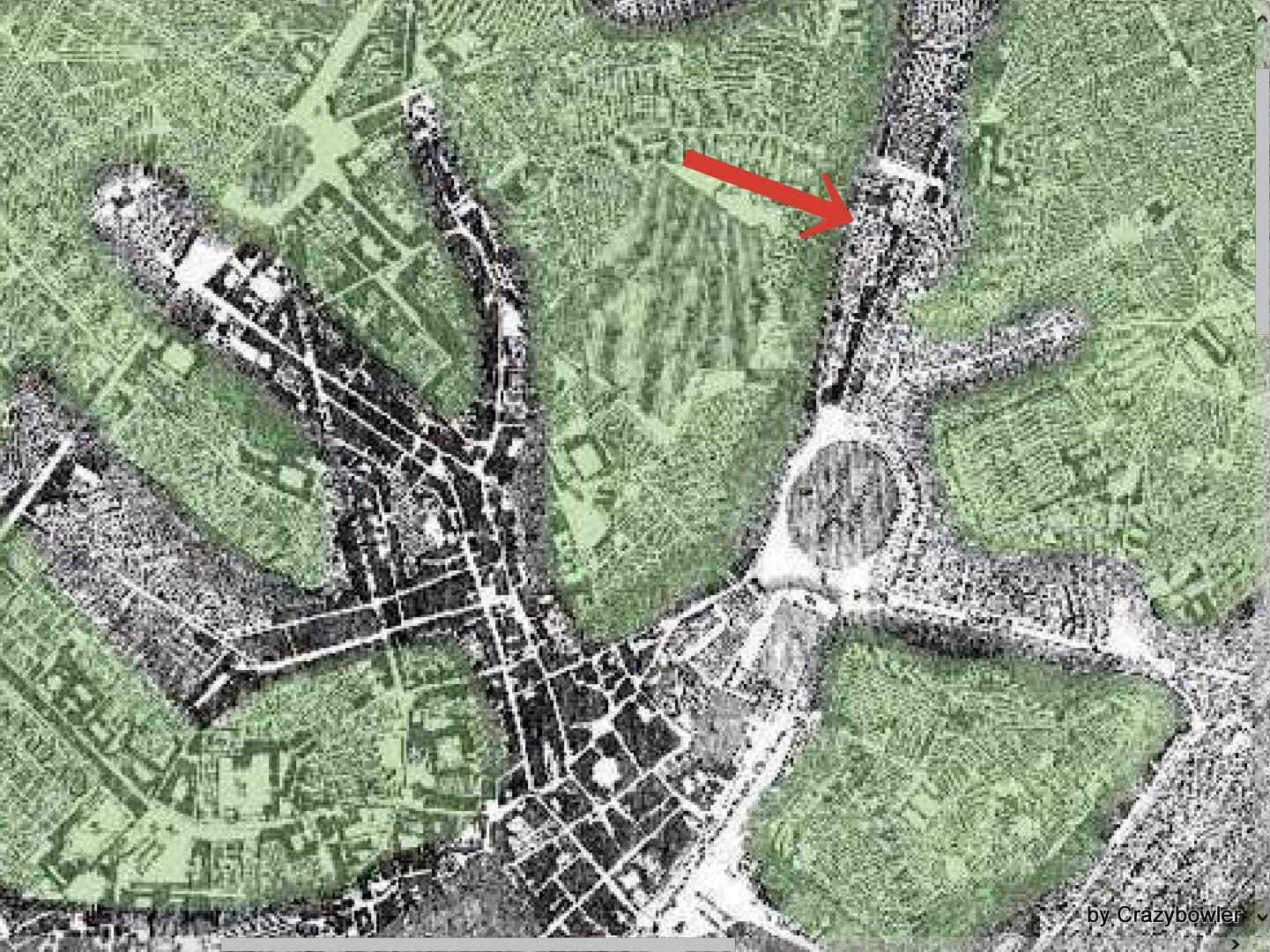 ローマ古地図