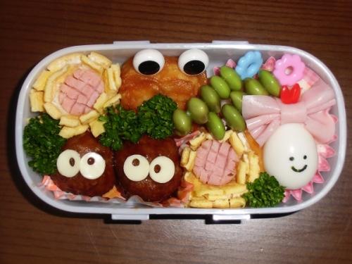 校外学習お弁当①