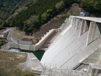 2014/4/24 野洲川ダム