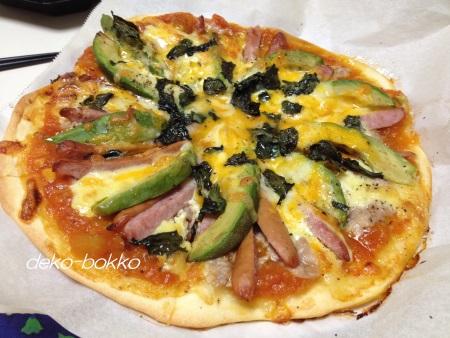 具だくさんピザ 201406
