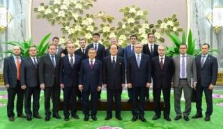 金永南とタタールスタン大統領