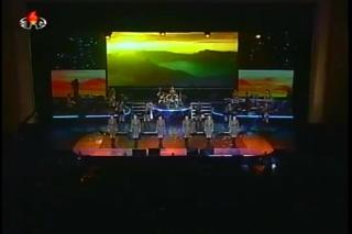 Moranbong Band Concert in Samjiyon County, North Korea [Aprimp4_003883700