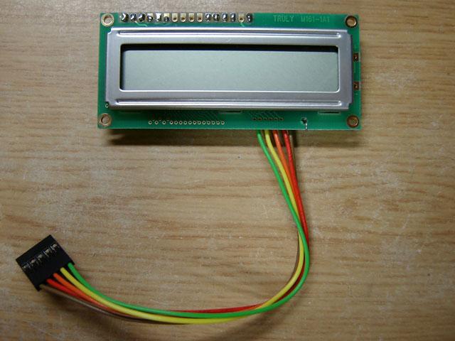 SPI接続LCD表