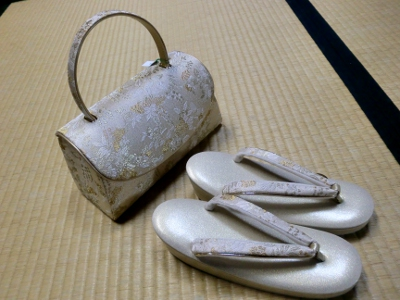 鞄と草履セット①