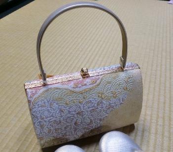 鞄と草履セット②アップ