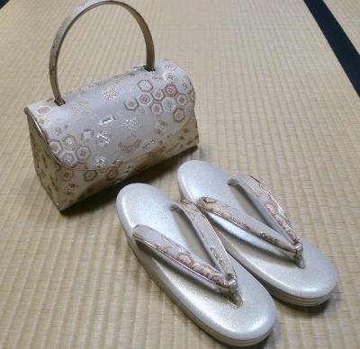 鞄と草履セット③