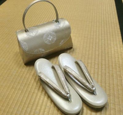 鞄と草履セット④