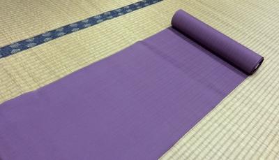 京べんがら友禅(紫)