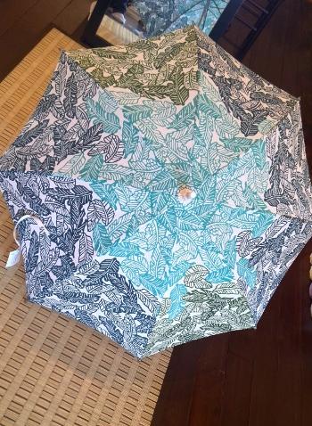 栗山工房日傘 ブルー