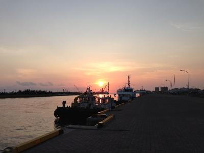 20140419006_石垣島の夕日