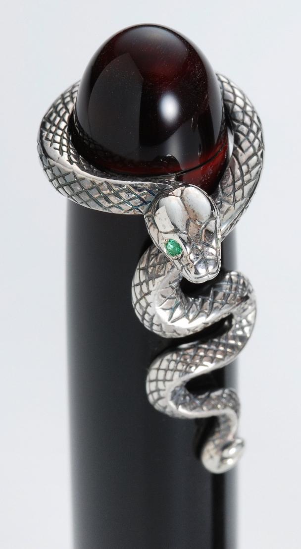 中屋万年筆 廻り止め 蛇