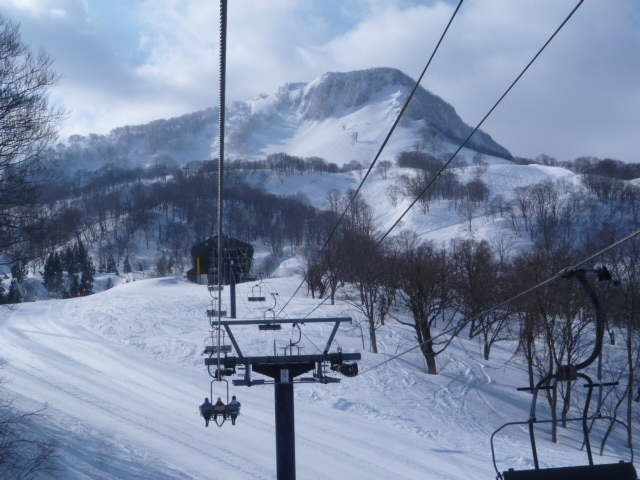 赤倉観光スキー場もくっきり