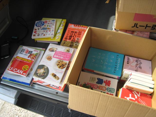 20140728_絵本、料理本、手芸の本