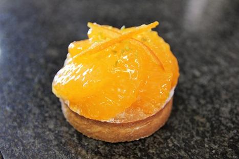清見オレンジのタルト