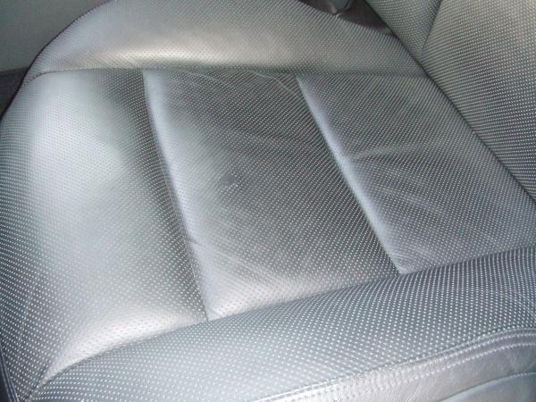 ベンツ S63 AMG パンチングレザーシート