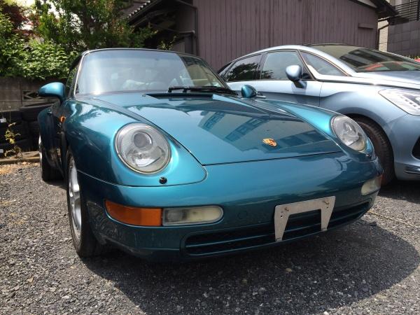 ポルシェ 911(993) タルガ