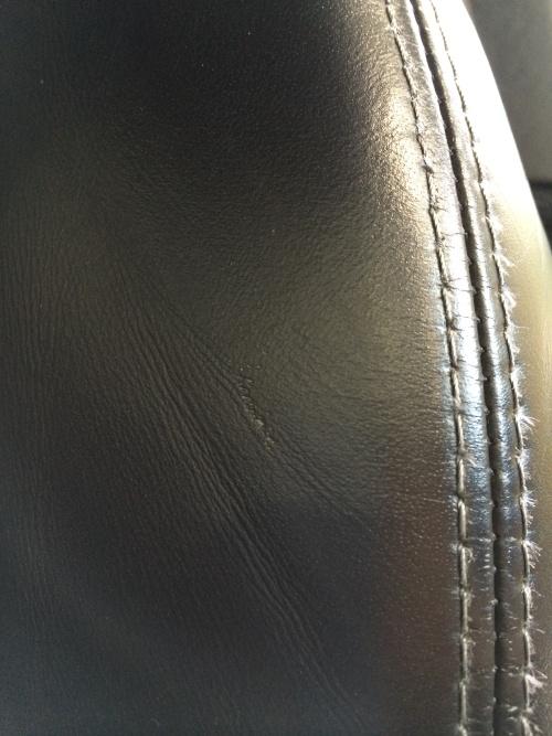 ポルシェ 911(997)レザーシート補修
