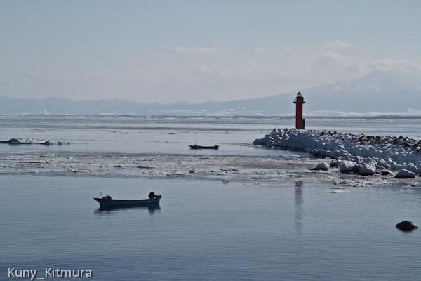 極寒のウニ漁始まる
