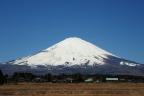 2014_03_31 雨後、3月最後の青空富士
