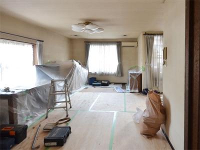 【京都市山科区】リフォーム施工中レポート3