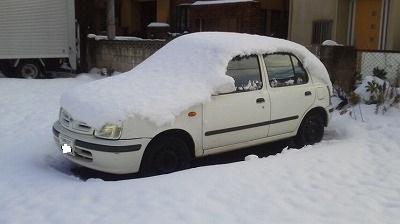 20130208の雪