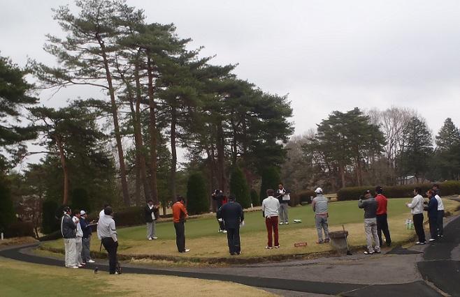 チャリティーゴルフ2