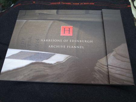 ARCHIVE-FLANNELアーカイブフランネルの見本