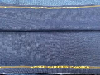 カノニコのウール100%のブルー・オーダージャケット用ホップサック