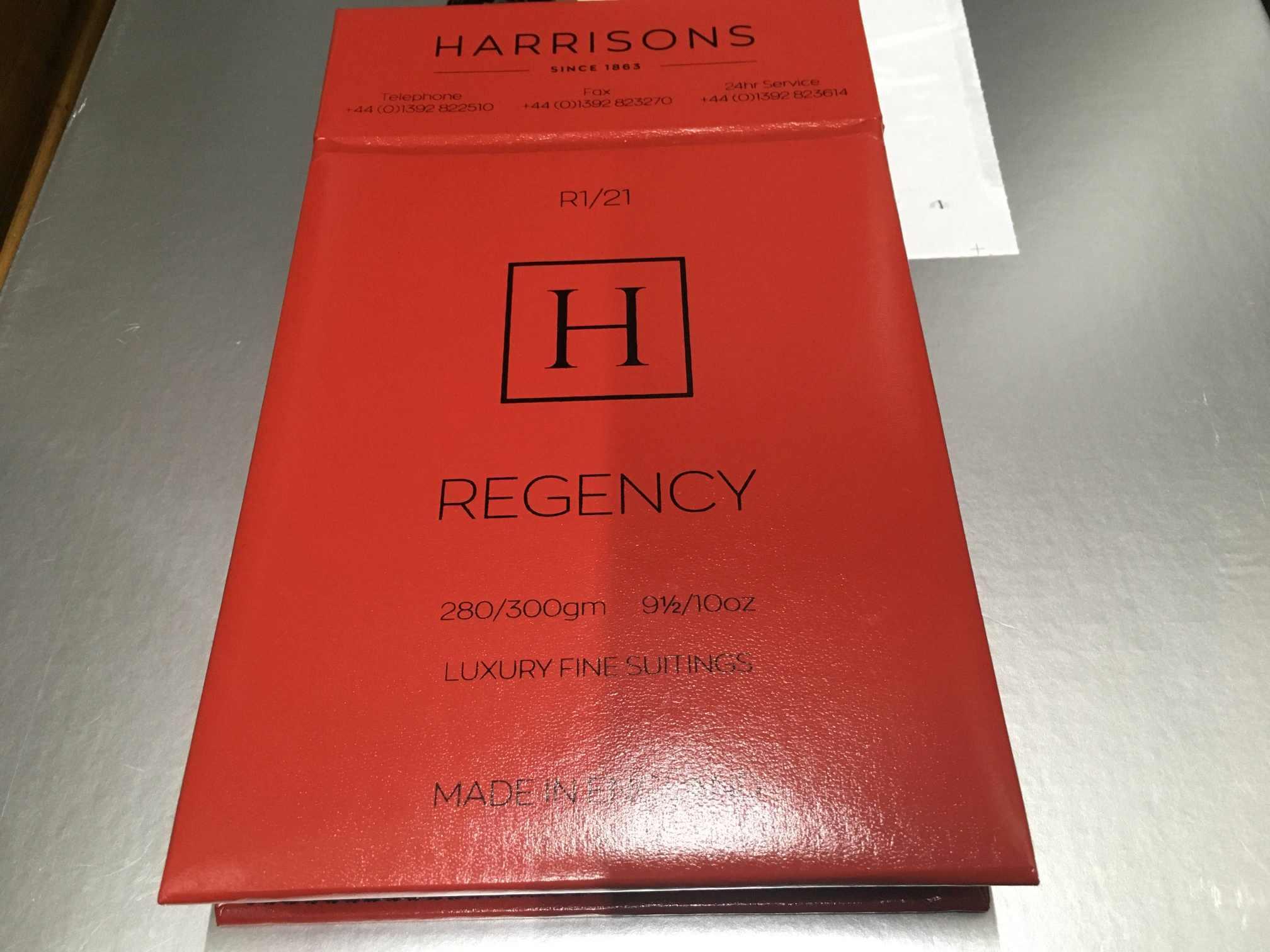 ハリソンズ・オブ・エジンバラの新作REGENCY(リージェンシー)
